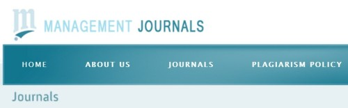 Management Journals