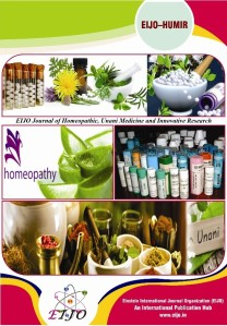 EIJO Journal of Homeopathic, Unani Medicine and Innovative Research