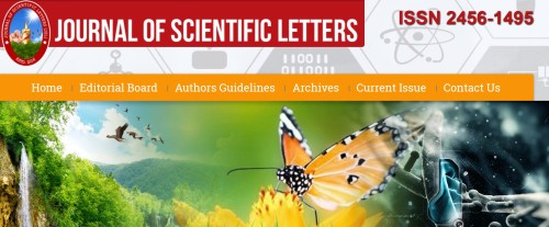 Journal of Scientific Letters