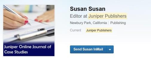 More deception via LinkedIn.